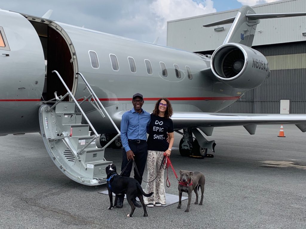 Challenger 605 Private Jet For Pets