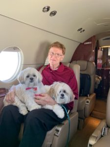 2 Lhasa Apso Private Jetting